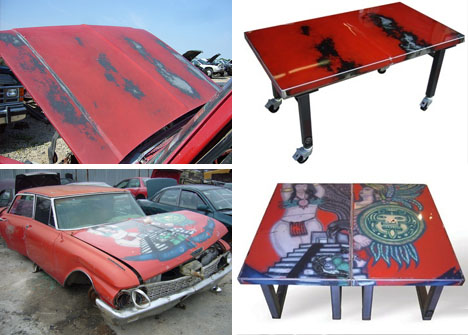 High 5 Recycled Car Furniture