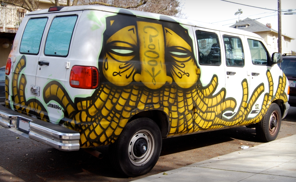 GATSVanGraffiti-OaklandCA