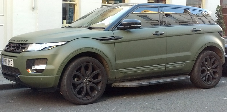 Flat Army Green Auto Paint