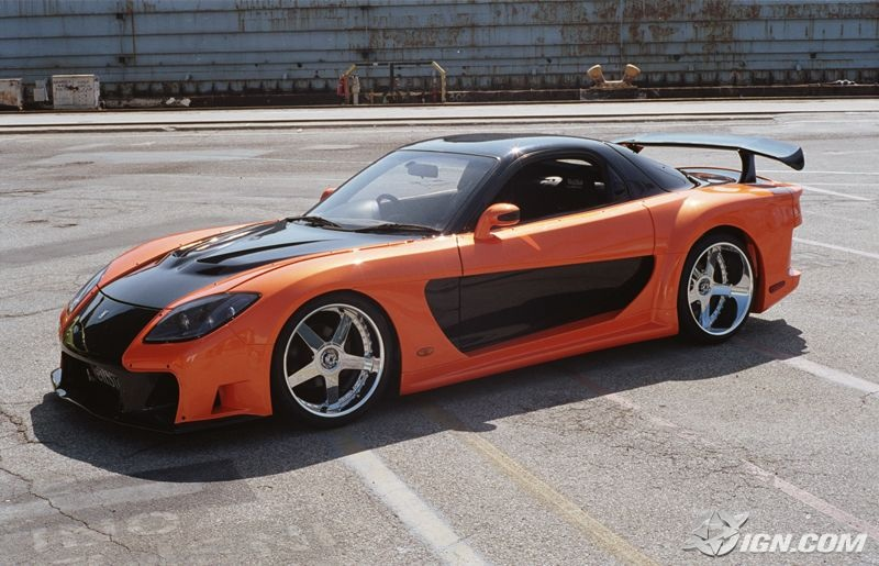 mazda rx7 fast and furious 6. 6 honda s2000 the fast and furious mazda rx7 s