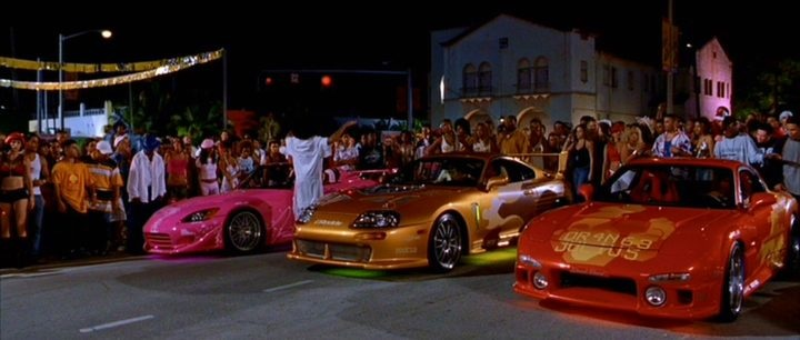 What Cars Were Used In Fast And Furious
