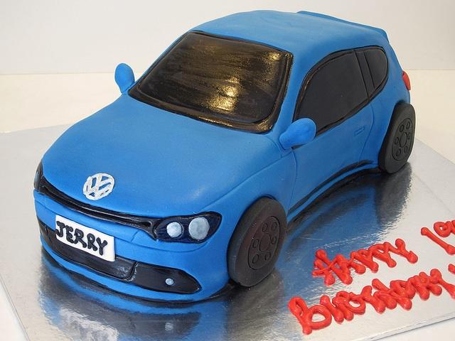 Chocolate Cake Gti Car